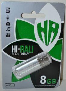 Флеш-драйв 8Gb Hi-Rali Corsair Silver