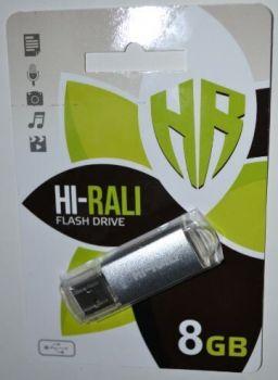 USB флешка 8Gb Hi-Rali Rocket Silve