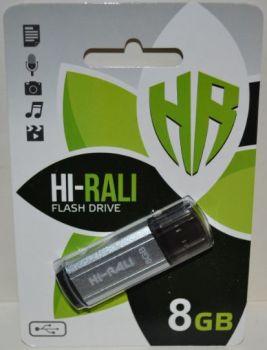 USB флешка 8Gb Hi-Rali Stark silver