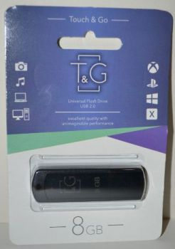 USB флешка 8Gb T&G 011 Classic black