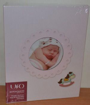 Детский фотоальбом на 200 фото 10х15  UFO Baby pink horse