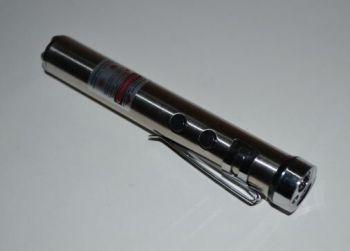Фонарик BL-1611 лазер+UF 1AA