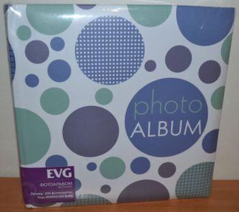 Фотоальбом на 200 фото 10х15 с местом для записей EVG Balls