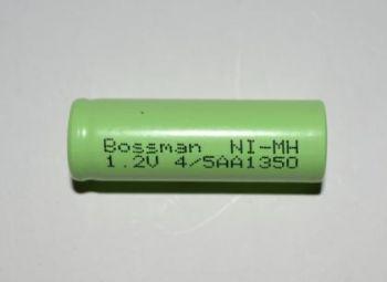 Аккумулятор Bossman 4/5AA 1350mAh 1,2V Ni-Mh (d=14; l=43mm)