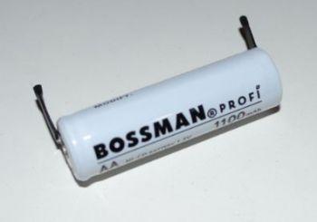 Аккумулятор Bossman AA 1100mAh 1,2V Ni-Cd (d=14; l=48mm) с контактами