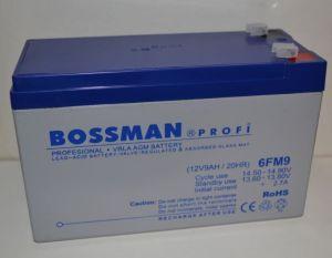 Аккумулятор Bossman Profi 12v 9Аh 6FM9 (151x65x94+6mm)