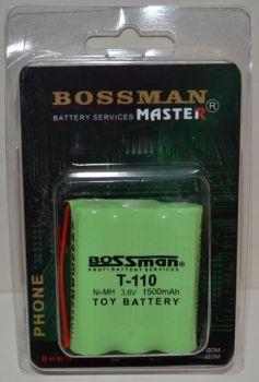 Аккумулятор Bossman T110 (3*AA) 1500mAh 3,6V Ni-Mh c проводом