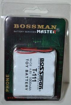 Аккумулятор Bossman T111 (4*AA) 1000mAh 4,8V Ni-Cd c проводом