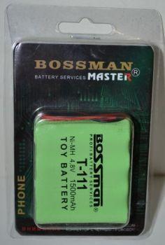 Аккумулятор Bossman T111 (4*AA) 1500mAh 4,8V Ni-Mh c проводом