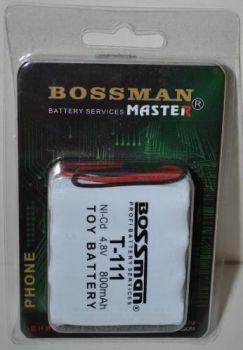 Акк Bossman T111 (4*AA) 800mAh 4,8V Ni-Cd c проводом