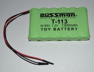 Аккумулятор Bossman T113 (6*AA) 1300mAh 7,2V Ni-Mh c проводом