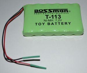 Аккумулятор Bossman T113 (6*AA) 1800mAh 7,2V Ni-Mh c проводом