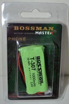 Bossman Bossman T307 (2*AAA) 1000mAh 2,4V Ni-Mh + контакты UP