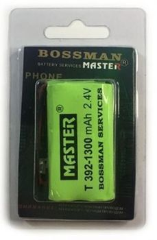 Акк Bossman T392 (2*AA) 1300mAh 2,4V Ni-Mh + контакты UP