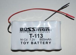 Акк Bossman T113 (6*AA) 800mAh 7,2V Ni-Cd c проводом