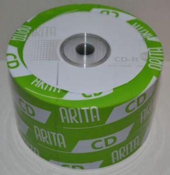 Диск CD-R Arita 700Mb 52x Bulk 50 /1/50/600шт.