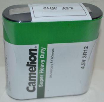Батарейка Camelion 3R12 коробка 1х1шт /1/12шт.