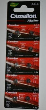 Часовая батарейка Camelion AG4 (LR626) блистер 1х10шт /10/100/