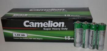 Батарейка АА Camelion R-6 Green коробка 1х4шт /4/60шт.
