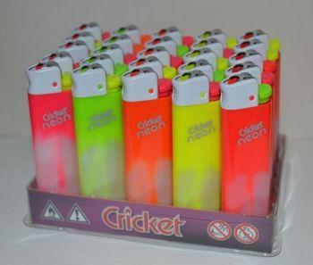 Зажигалка Cricket Original Фьюжн Неон /1/25/500шт.