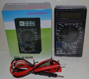 Тестер мультиметр вольтметр амперметр DT-838