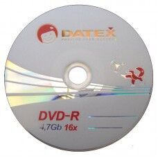 Медиа DVD-R Datex 4.7GB 8x Bulk 100 /1/100/