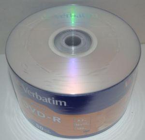 Диск DVD-R Verbatim DataLife 4.7Gb 16x Bulk 50 /1/50шт.