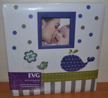 Детский фотоальбом на 200 фото 10х15 с местом для записей EVG Darling Baby