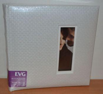 Фотоальбом на 200 фото 10х15 с местом для записей EVG Doris white