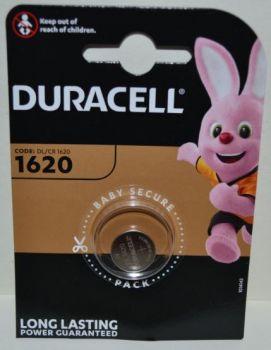 Батарейка Duracell DL1620 DSN Lithium 1х1шт /1/10шт.