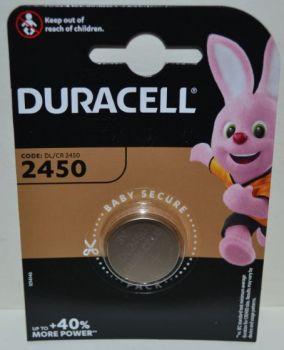 Батарейка Duracell DL2450 DSN Lithium 1х1шт /1/10шт.