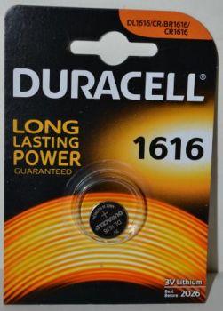 Батарейка Duracell DL1616 DSN Lithium 1x1шт /1/10шт.