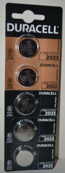 Батарейка Duracell DL2025 DSN Lithium 1x5шт /1/5/20шт.