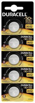 Батарейка Duracell DL2032 DSN Lithium 1x5шт /1/5/20шт.