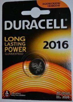 Батарейка Duracell DL2016 DSN Lithium 1x1шт /1/10/
