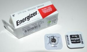 Часовая батарейка Energizer 377 (SR-626SW, SR-66) AG4 1х1шт /1/10шт.