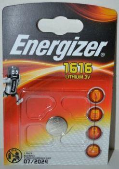 Батарейка Energizer CR-1616 Lithium 1х1шт /1/10шт.
