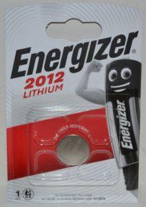 Батарейка Energizer CR-2012 Lithium