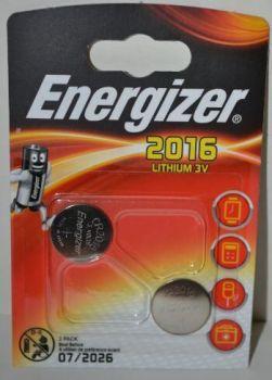 Батарейки Energizer CR-2016 Lithium 1х2шт /2/