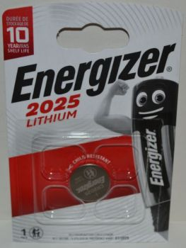 Батарейка Energizer CR-2025 Lithium 1х1шт /1/10/