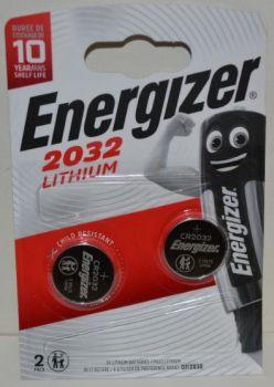 Батарейка Energizer CR-2032 блистер 1х2шт /2/20шт.
