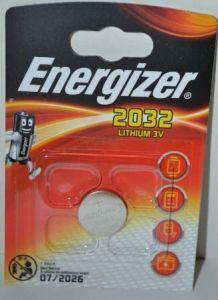 Батарейка Energizer CR-2032 Lithium 1х1шт /1/10/