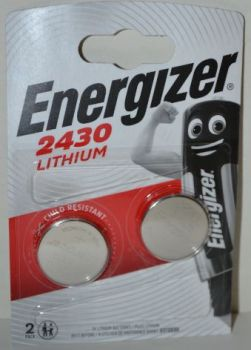 Батарейка Energizer CR-2430 Lithium 1х2шт /2/20шт.