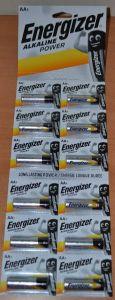 Батарейка Energizer LR-6 блистер 1х12шт (12x1шт отрывная) /12/120шт.