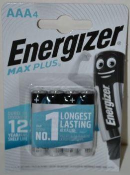 Батарейки Energizer MaxPlus LR-03 блистер 1х4шт /4/48/