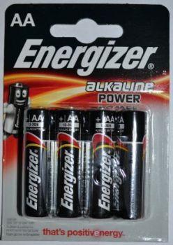 Батарейка Energizer LR-6 блистер 1х4шт /4/96шт.