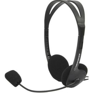 Наушники+микрофон Esperanza SCHERZO EH-102 black /1/