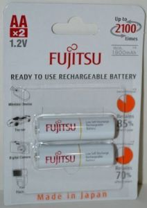 Аккумуляторы FUJITSU НR-6 1900mAh Ni-MH блистер 1х2шт