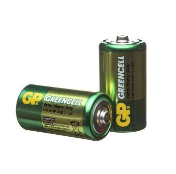 Батарейка GP R-14 (зеленая) коробка 1х2шт /2/24/