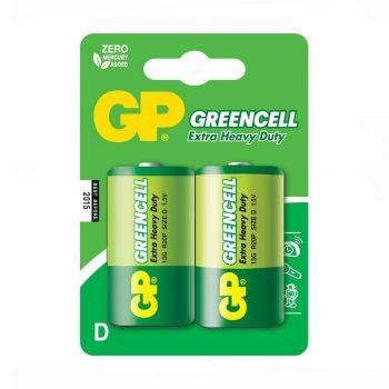 Бат GP R-20 (зелёная) блистер 1х2шт /2/20/